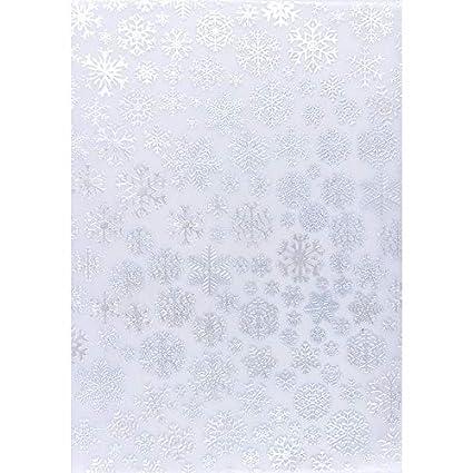 Premium-Transparentpapiere, Nova Noblesse mit Top-Prä gung & Perlmuttlack, DIN A4, 5 Bogen (taubenblau, Design 08) Ideen mit Herz