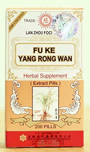 Solstice Fu Ke Yang Rong Wan Herbal Supplement (200 Pills) by Solstice Medicine (Yang Rong Wan)