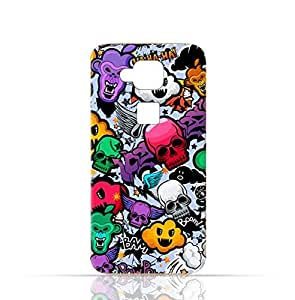 Huawei G8 TPU Silicone Case with Funky Seamless Freak Texture