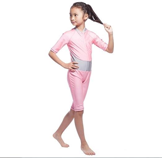 e33ae09cb8 FXFAN Muslim Girl Traditional Fashion Swimwear SwimsuitHui Girl Swimsuit  Conservative Split SwimwearZHANGM: Amazon.co.uk: Sports & Outdoors
