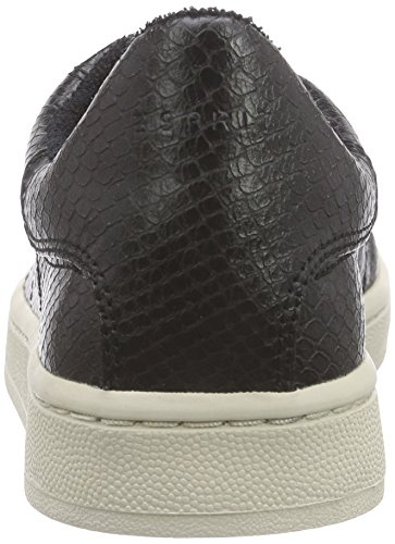 ESPRIT Gwen Lace Up Damen Sneakers Schwarz (001 Black)