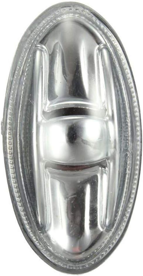 Xrlwood Indicateur c/ôt/é marqueur r/ép/éteur Ambre Tournez remplacement signal lumineux pour Peugeot 108 107 206 1007 407 Partenaire