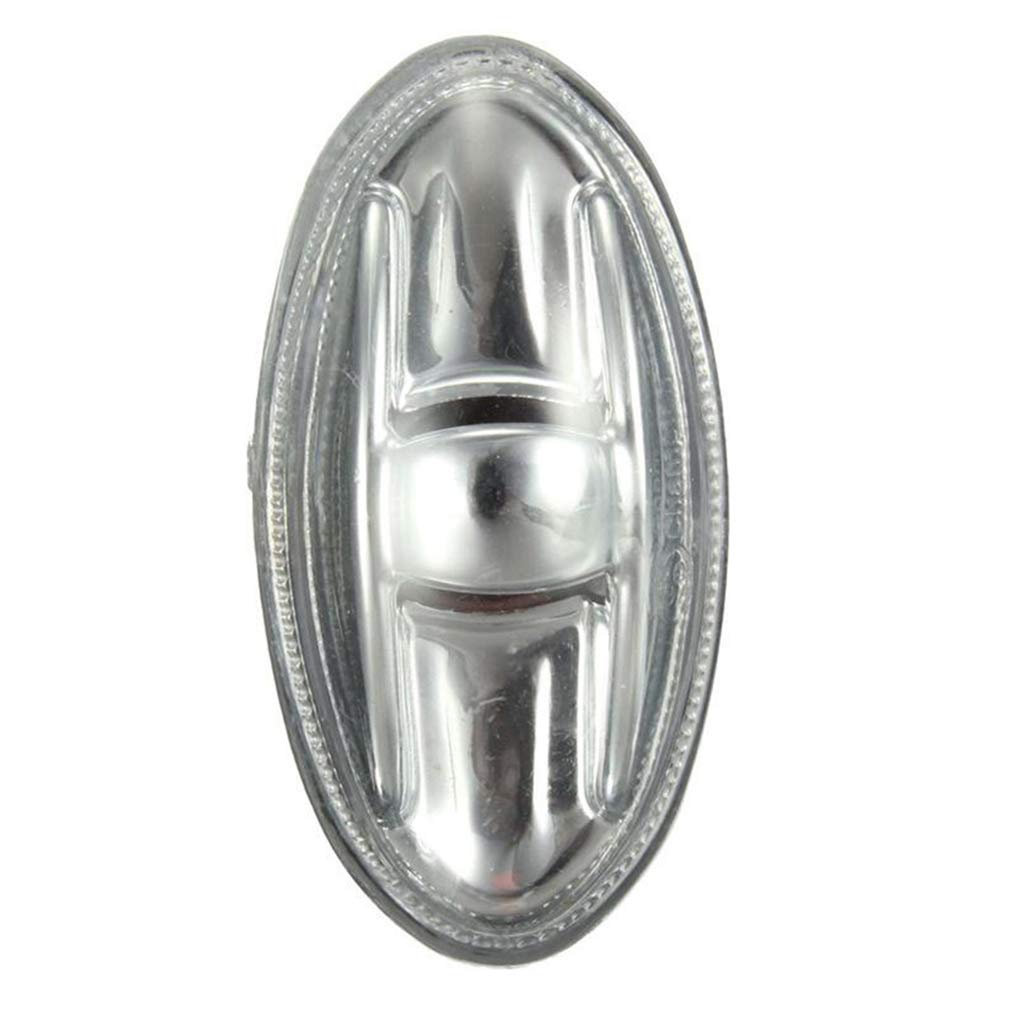 fgyhty Indicateur c/ôt/é marqueur r/ép/éteur Ambre Tournez Remplacement Signal Lumineux pour Peugeot 108 107 206 1007 407 Partenaire