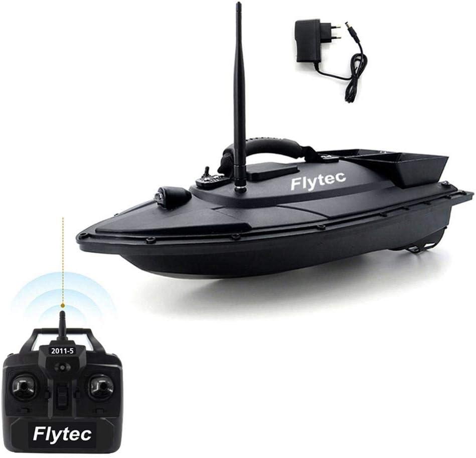 ZSLGOGO Flytec 2011-5 RC Barco para la Pesca - 1,5kg Carga de 500m Barco de Cebo de Pesca de Control Remoto, Barco cebador Pesca, Señuelos de Pesca, Buscador de Peces