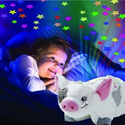 Pillow Pets Disney Moana Pua Sleeptime Lites - Pua Plush Night Light: Toys & Games