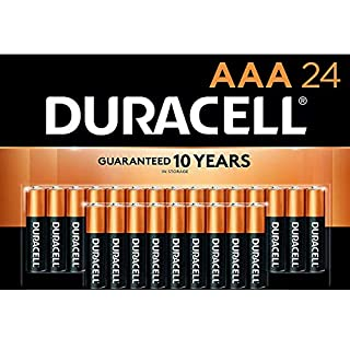 Duracell - CopperTop AAA Alkaline Batteries - long lasting, all-purpose Double A battery for household and business - 24 Count