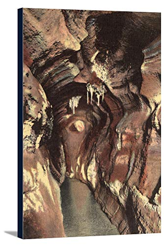 (Manitou Springs, Colorado - Majestic Hall, Cave of the Winds View (22 5/8x36 Gallery Wrapped Stretched)