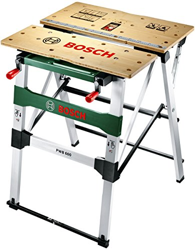 Bosch Work Bench PWB 600 (4 blade clamps, cardboard box, max. load capacity: 200 kg)