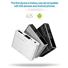 Lightning to VGA,niceEshop(TM) Lightning/Micro/Type-C to HDMI/VGA/Audio Output Adapter Converter Support Full HD 1080P for IOS/Android Devices/HDTV/Monitor /Projector