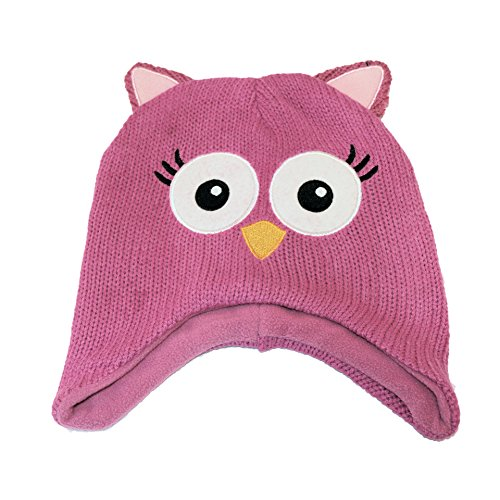 Fiream Kids Toddler Winter Autumn Cute Cartoon Animal Knitted Hats