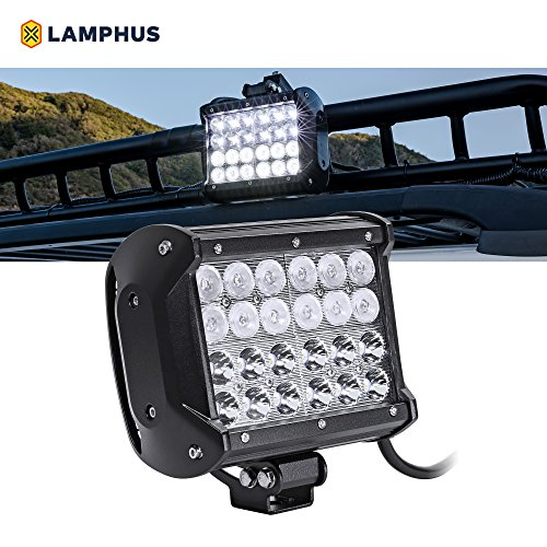 "LAMPHUS CRUIZER 6.5"" 72W LED Work Light Bar    – Dual-Stac"