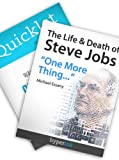 img - for Steve Jobs Bundle (The Life & Death of Steve Jobs; Quicklet on Steve Jobs by Isaacson) book / textbook / text book