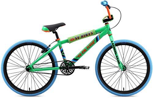 SE So Cal Flyer 24 BMX Bike Green Mens Sz 24in (The Best E Bikes 2019)