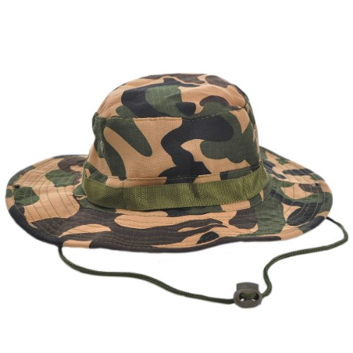 W&B Lion Ultra Force Vintage Combat Uniform OD Military Boonie Hats - Camo Ultra Force