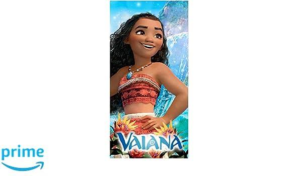 E plus M S Manta Toalla de Microfibra Suave, Disney Vaiana, 70 x 140 cm,/Idea Regalo para Chica: Amazon.es: Hogar