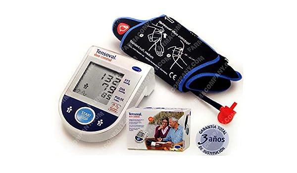 Tensiometro Automatico Tensoval Duo Control Ultimo ModeloTalla M Ultima Generacion: Amazon.es: Salud y cuidado personal