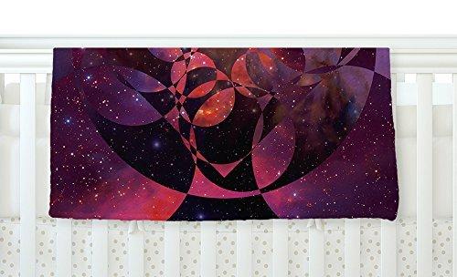 KESS InHouse Matt Eklund Galactic Brilliance Magenta x Pink Matt InHouse Purple 30 x 40 Fleece Baby Blanket 40 x 30 [並行輸入品] B077ZTD37L, ANZUDOG/あんずドッグ:63d13c85 --- ijpba.info