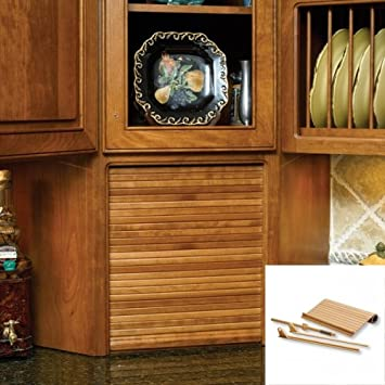 30u0026quot; Wide Tambour Door Kit   Maple