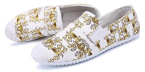 planos los zapatos no con Zapatos hombres lona HYLM los white de transpirables los pedal de un de moda zapatos de de atado xHU8n0faw