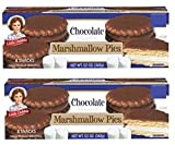 Little Debbie Chocolate Marshmallow Pies, 12.1 Oz (2 Pack)