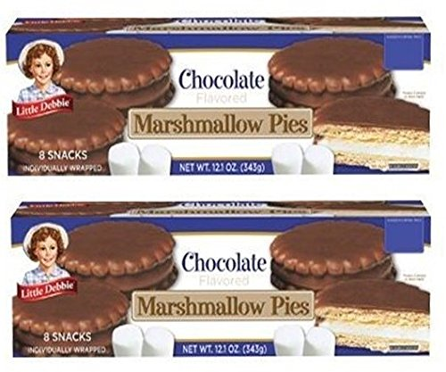 Little Debbie Chocolate Marshmallow Pies, 12.1 Oz (2 Pack) by Little Debbie