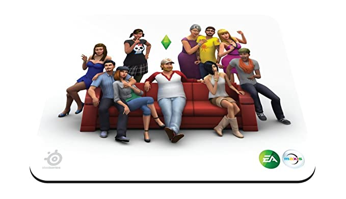 SteelSeries Qck The Sims 4 Edition 67292   Mouse pad