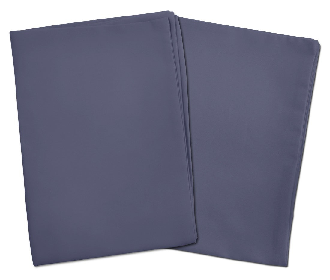 2 Pack For Pillows Sized 13x18 and 14x19-100/% Cotton With Percale Weave Zadisonjaxx Basics Collection 2 White Toddler Pillowcases Envelope Style Closure Machine Washable