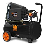WEN 2287 6-Gallon Oil-Lubricated Portable Horizontal Air Compressor