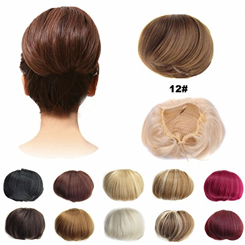 FESHFEN Scrunchie Hairpiece Extensions Drawstring product image