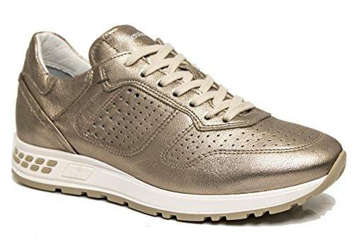 Sneaker Bronze Nero Damen Giardini Bronze Braun nw8xvEzFqU