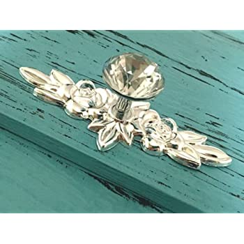 Incroyable Cabinet Pull Antique, Cabinet Pulls Knob Glass Crystal Drawer Knob Dresser Pulls  Cabinet Knob Flower