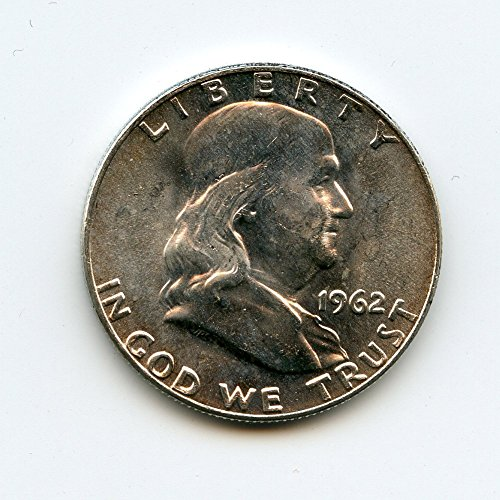1962 D Franklin Half Dollar MS-64