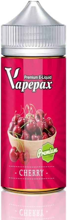 E liquido Vaper sin Nicotina Cereza Melón, Seven Vape 70VG/30PG E-Liquid Vaper Vape Juice para Cigarrillos Electrónicos (Cereza, 100ML)