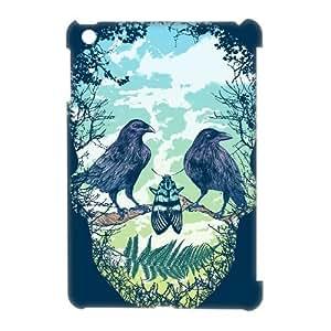 ALICASE Diy Artsy Skull Phone Case For iPad Mini [Pattern-1]