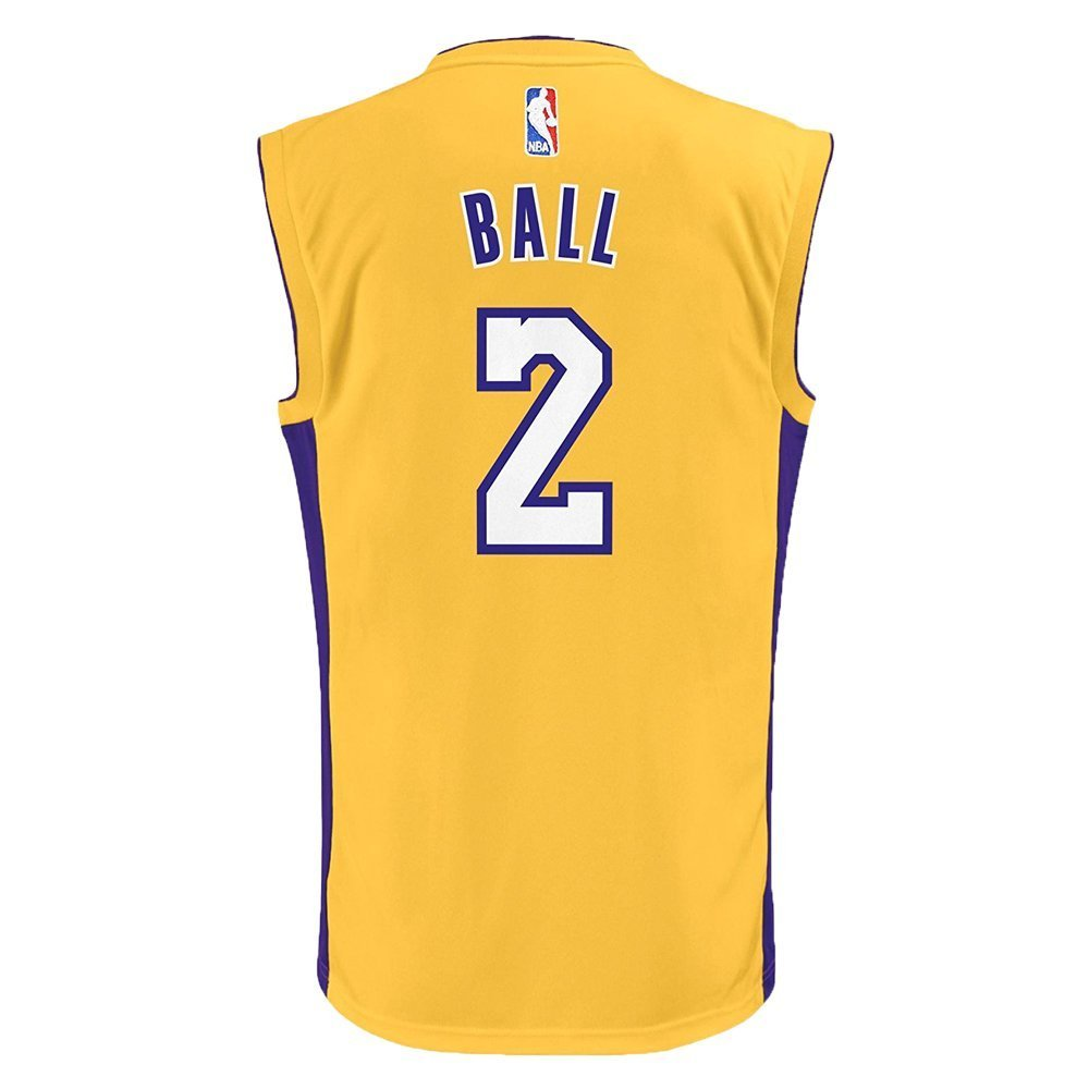 Outerstuff juventud Lonzo bola oro Lakers Jersey (282 nk-kq) - 282NK-KQ, Dorado: Amazon.es: Deportes y aire libre