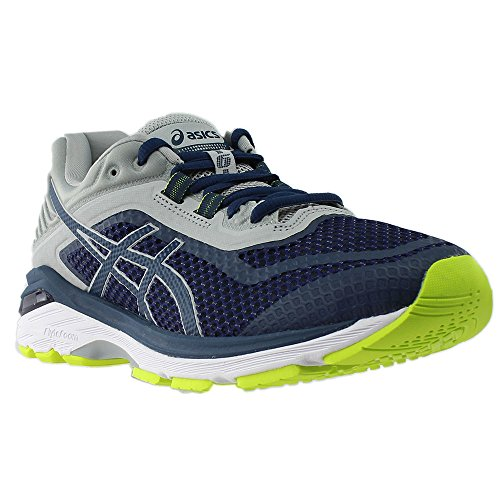 ASICS Men's GT-2000 6 Running Shoe, Dark Blue/Dark Blue/Mid Grey 11.5