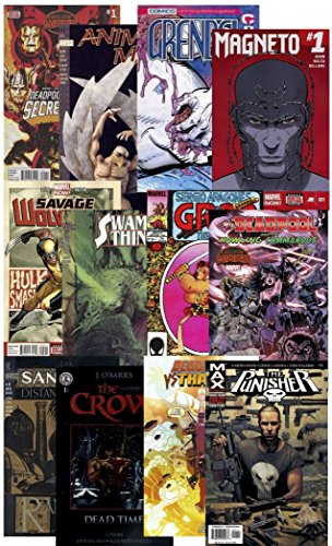 amp; 25 KerSplat 1 every in Bag comic pack Marvel COMIC ~ Collection Guidance at Parental by DEADPOOL 17 MATURE from more VIOLENCE BOOKS Grab Least amp; SITUATIONS Comics BLOOD DC GORE Guaranteed vpgArvqxwW