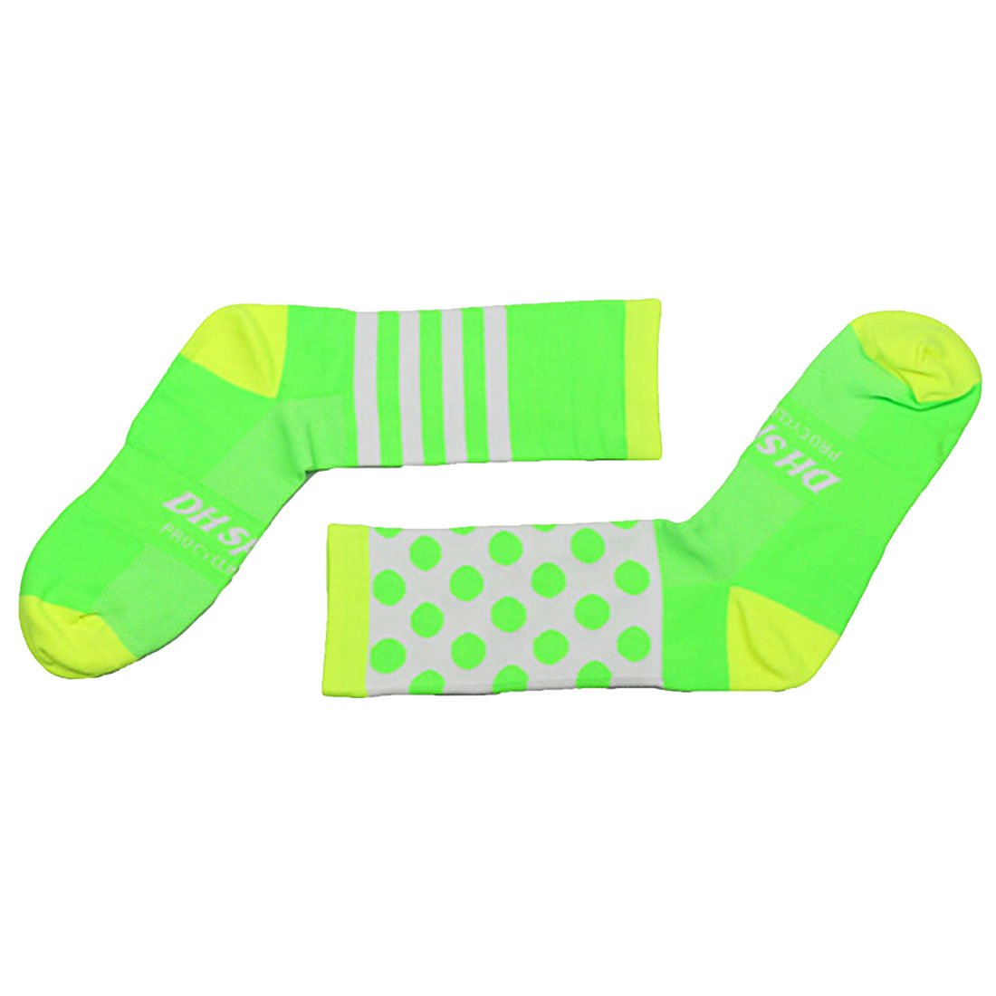 YAMALL Professional Cycling Socks Long Compression Outdoor Sports Road Bicycle Socks