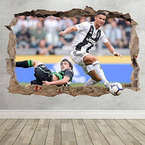 Wall Decor 247 Cristiano Ronaldo Juventus - Adhesivo Mural para ...