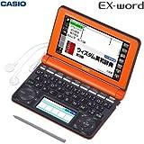 カシオ計算機 電子辞書 EX-word XD-N4850 (150コンテンツ/高校生モデル/オレンジ) XD-N4850RG