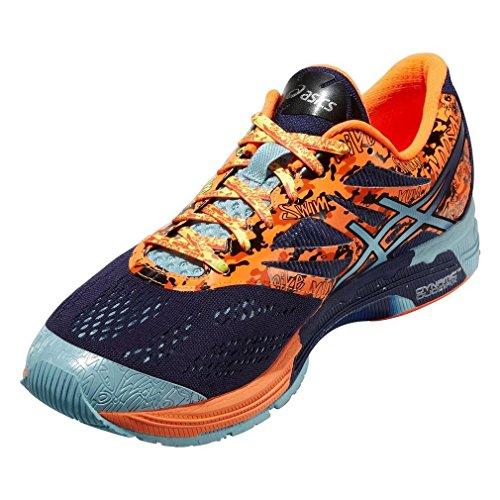 Asics Scarpa Da Running Gel-Noosa Tri 10 Blu/Blu Navy/Arancione EU 44.5 (US 10H)