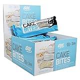 OPTIMUM NUTRITION cake bites whipped protein snack bar, birthday cake, 756 Gram