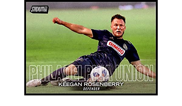 2018 Topps Stadium Club MLS Auto #74 Keegan Rosenberry