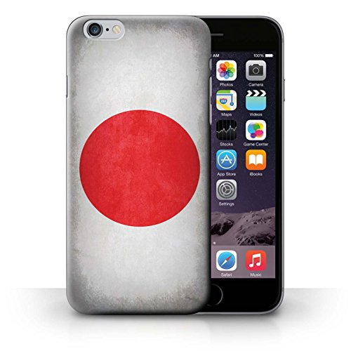 Etui / Coque pour iPhone 6+/Plus 5.5' / Japon/japonois conception / Collection de Drapeau