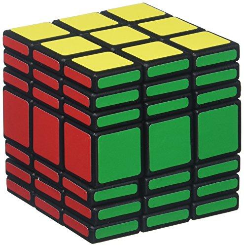 C4U Speed Cube, Black, 3 x 3 x 7