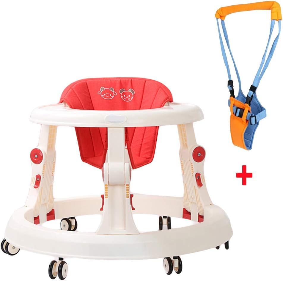 NXLWXN Andador Bebe, Silla De Bebé Plegable Y Ajustable para Bebés Mayores De 6 Meses