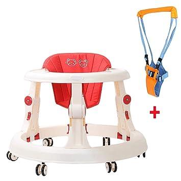 NXLWXN Andador Bebe, Silla De Bebé Plegable Y Ajustable para Bebés ...