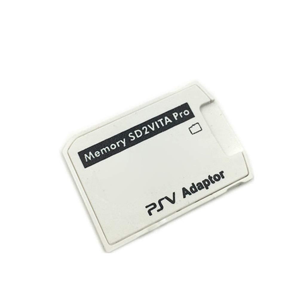 Slri - Adaptador de Tarjeta de Memoria TF para PS Vita PSV1000 3.6 ...