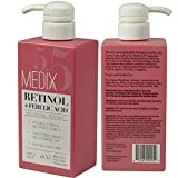 sagging Two Pack - Medix 5.5 Retinol Cream with Ferulic Acid Anti-Sagging Treatment. Targets Crepey Wrinkles and Sun Damaged Skin. Anti-Aging Cream Infused With Black Tea, Aloe Vera, And Chamomile. 15oz (two)