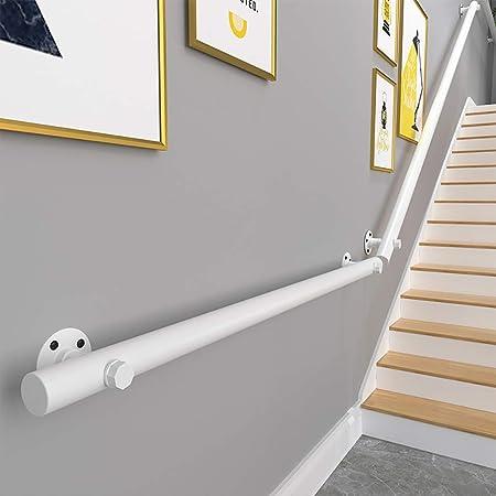 GJIF Barandilla De Escalera De Pino Blanco, Barandilla - Kit Completo, Barandillas De Madera Antideslizantes para Escaleras De Interior, Longitud: 30-400 Cm(Size:150cm): Amazon.es: Hogar